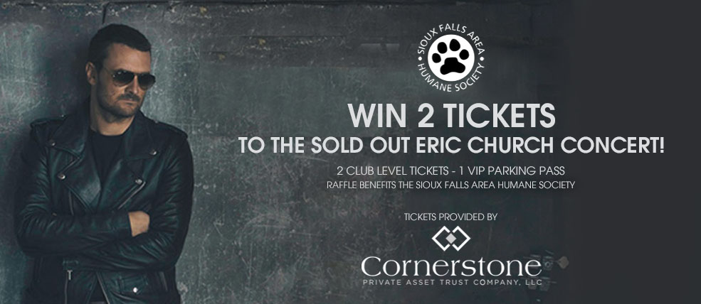 Eric Church Raffle SFAHS